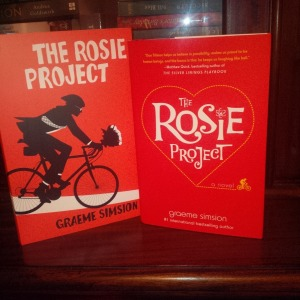My signed US and AUS versions of 'The Rosie Project'.
