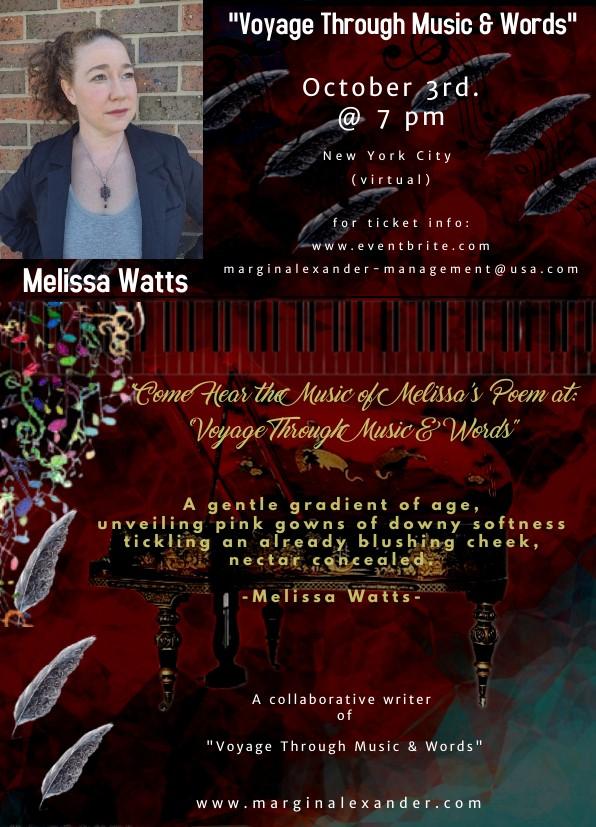Melissa Watts Flyer